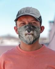 Amazing Standard Schnauzer Cloth face mask aos-face-mask-lifestyle-06