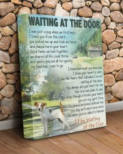 Waiting at the door - Rat Terrier 11x14 Gallery Wrapped Canvas Prints aos-canvas-pgw-11x14-lifestyle-front-18