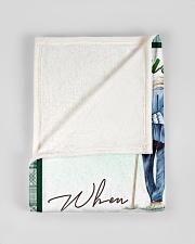 "To my husband - I had you and you had me Small Fleece Blanket - 30"" x 40"" aos-coral-fleece-blanket-30x40-lifestyle-front-17"