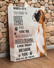 Boxer - I'll be there 11x14 Gallery Wrapped Canvas Prints aos-canvas-pgw-11x14-lifestyle-front-18