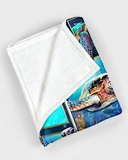 """Turtle - Beautiful Large Fleece Blanket - 60"""" x 80"""" aos-coral-fleece-blanket-60x80-lifestyle-front-08"""