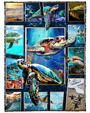 "Turtle - Beautiful Large Fleece Blanket - 60"" x 80"" front"