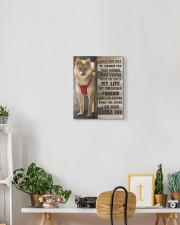 Custom Shiba Inu 11x14 Gallery Wrapped Canvas Prints aos-canvas-pgw-11x14-lifestyle-front-03
