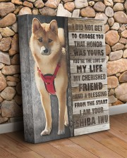 Custom Shiba Inu 11x14 Gallery Wrapped Canvas Prints aos-canvas-pgw-11x14-lifestyle-front-18