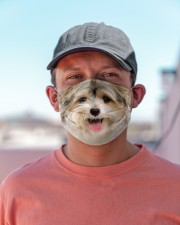Amazing Yorkshire Terrier Cloth face mask aos-face-mask-lifestyle-06
