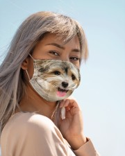 Amazing Yorkshire Terrier Cloth face mask aos-face-mask-lifestyle-19