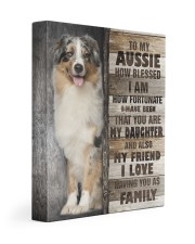 Aussie - You are my daughter 11x14 Gallery Wrapped Canvas Prints front