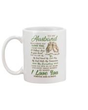 To my husband - I love you forever and always Mug back