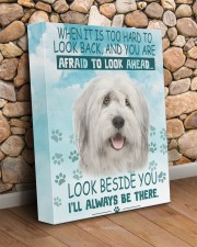 Old English Sheepdog - I'll always be there 11x14 Gallery Wrapped Canvas Prints aos-canvas-pgw-11x14-lifestyle-front-18