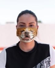 Amazing English Bulldog Cloth face mask aos-face-mask-lifestyle-03