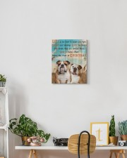 English Bulldog - Smile more 11x14 Gallery Wrapped Canvas Prints aos-canvas-pgw-11x14-lifestyle-front-03