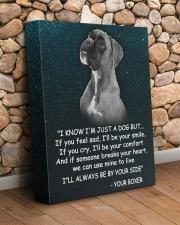 Boxer - I'll be by your side 11x14 Gallery Wrapped Canvas Prints aos-canvas-pgw-11x14-lifestyle-front-18