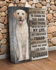 Labrador - The love of my life 11x14 Gallery Wrapped Canvas Prints aos-canvas-pgw-11x14-lifestyle-front-18