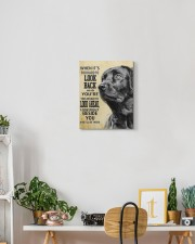 Black Labrador-canvas-I'll be there 11x14 Gallery Wrapped Canvas Prints aos-canvas-pgw-11x14-lifestyle-front-03