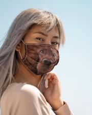 Amazing Irish Setter Cloth face mask aos-face-mask-lifestyle-19