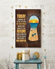 Today I choose to start a new chapter 24x36 Poster lifestyle-holiday-poster-3