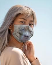 Amazing Pitbull  Cloth face mask aos-face-mask-lifestyle-19
