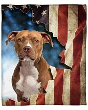"""Beautiful American Staffordshire Terrier Fleece Blanket - 50"""" x 60"""" front"""