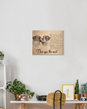 Boxer - I love you the most 14x11 Gallery Wrapped Canvas Prints aos-canvas-pgw-14x11-lifestyle-front-03