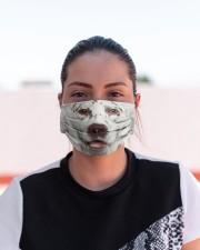 Amazing Dalmatian Cloth face mask aos-face-mask-lifestyle-03