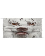 Amazing Dalmatian Cloth face mask front