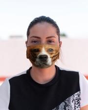 Amazing Beagle Cloth face mask aos-face-mask-lifestyle-03