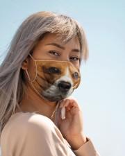 Amazing Beagle Cloth face mask aos-face-mask-lifestyle-19