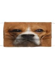 Amazing Beagle Cloth face mask front