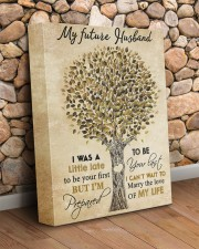 To my future husband - I want to be your last 11x14 Gallery Wrapped Canvas Prints aos-canvas-pgw-11x14-lifestyle-front-18