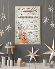 To my daughter - You will always be my baby girl 11x17 Poster lifestyle-holiday-poster-1