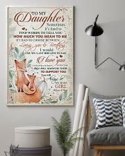 To my daughter - You will always be my baby girl 11x17 Poster lifestyle-poster-1