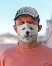 Amazing Bichon Frise Cloth face mask aos-face-mask-lifestyle-06