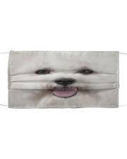 Amazing Bichon Frise Cloth face mask front