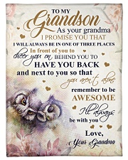"""Nana to my grandson - I'll always be with you Small Fleece Blanket - 30"""" x 40"""" front"""