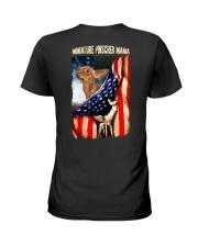 Miniature Pinscher mama Ladies T-Shirt back