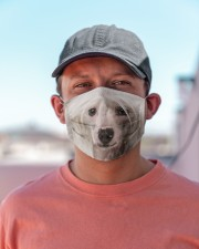 Amazing Chinese Crested Cloth face mask aos-face-mask-lifestyle-06