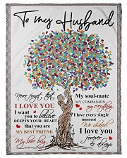 """To my husband - Never forget that I love you Small Fleece Blanket - 30"""" x 40"""" front"""