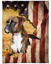 "Boxers - Beautiful flag Large Fleece Blanket - 60"" x 80"" front"