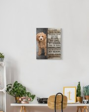 Goldendoodle - I am your friend 11x14 Gallery Wrapped Canvas Prints aos-canvas-pgw-11x14-lifestyle-front-03