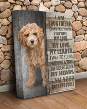 Goldendoodle - I am your friend 11x14 Gallery Wrapped Canvas Prints aos-canvas-pgw-11x14-lifestyle-front-18