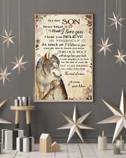 To my son - Never forget that I love you 11x17 Poster lifestyle-holiday-poster-1