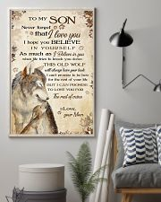 To my son - Never forget that I love you 11x17 Poster lifestyle-poster-1