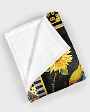 "Frog - You are my sunshine Large Fleece Blanket - 60"" x 80"" aos-coral-fleece-blanket-60x80-lifestyle-front-08"