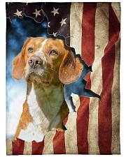 "Beautiful Beagle Large Fleece Blanket - 60"" x 80"" front"