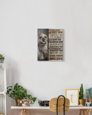 English Bulldog - Before I met you 11x14 Gallery Wrapped Canvas Prints aos-canvas-pgw-11x14-lifestyle-front-03