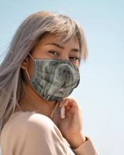 Amazing Neapolitan Mastiff Cloth face mask aos-face-mask-lifestyle-19