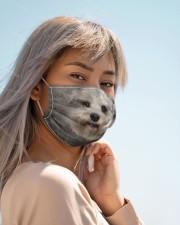 Amazing Miniature schnauzer Cloth face mask aos-face-mask-lifestyle-19