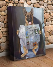 German Shepherd - Good morning 11x14 Gallery Wrapped Canvas Prints aos-canvas-pgw-11x14-lifestyle-front-18