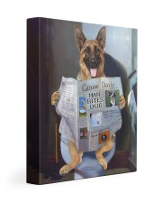 German Shepherd - Good morning 11x14 Gallery Wrapped Canvas Prints front