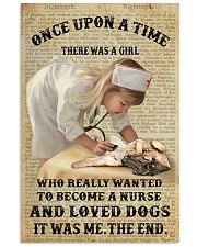 German Shepherd - Once upon a time  11x17 Poster front